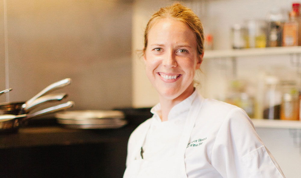 Mankas BackDoor Grill Chef Lindsey Chelini